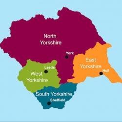 Yorkshire Map Regions